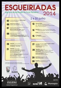 cartaz esgueiríadas 2014
